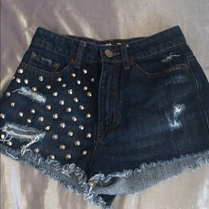 High Waisted BDG Shorts